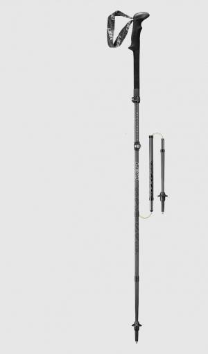 LEKI Black Series Micro Vario Carbon - Trekkingstöcke
