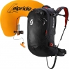 Air Free AP 32 Kit Lawinenrucksack black - burnt orange