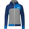 Fleece Plus Hoody strong blue XXL