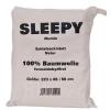 Sleepy Cotton Mumie Schlafsackinlett - 1 natur
