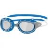 Zoggs Predator Schwimmbrille - klare Gläser - grey/blue