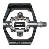 HT X2 Klickpedal Aluminium - schwarz