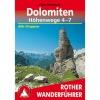 Rother Dolomiten Höhenwege 4 - 7 Wanderführer
