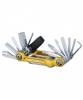 Topeak Mini 20 Pro - 20 Funktionen - Miniwerkzeug für Fahrradreparaturen - Multitool schwarz - 20 Funktionen
