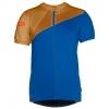 ION - Tee Full Zip SS Zion - Radtrikot Gr XL blau/braun
