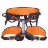 Edelweiss - Sitzgurt Dart - Klettergurt Gr 2 schwarz/orange