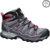 Salomon X Ultra Mid GTX women Wanderschuh grey/pink Gr. 6 UK