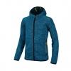 knitted fox hood jacket